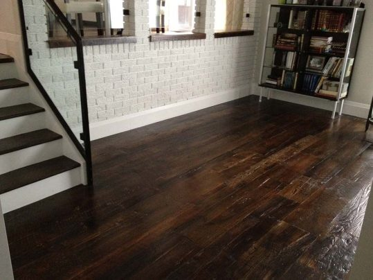 Antique Rock Elm Plank Flooring 53