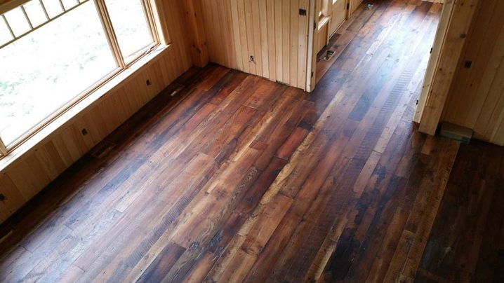 Antique Rock Elm Plank Flooring 58