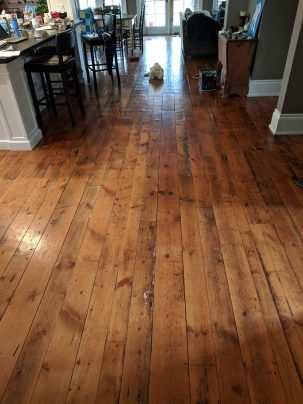 Antique Rock Elm Plank Flooring 6