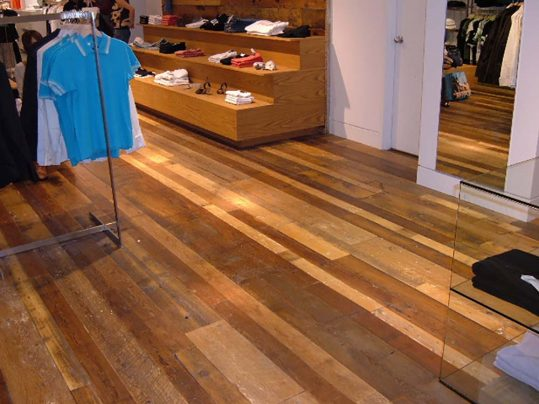 Antique Rock Elm Plank Flooring 40
