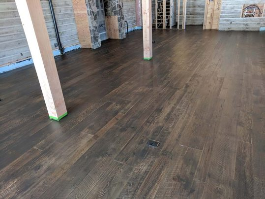 Antique Rock Elm Plank Flooring 55