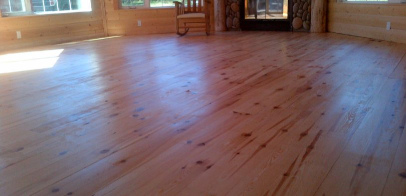Red Pine Flooring Muskoka Revival Flooring
